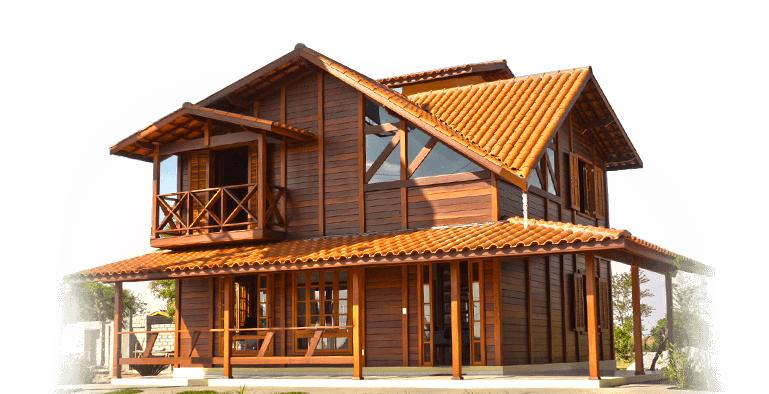 Construtora de casas de madeira casas pr fabricadas for Ver construcciones de casas