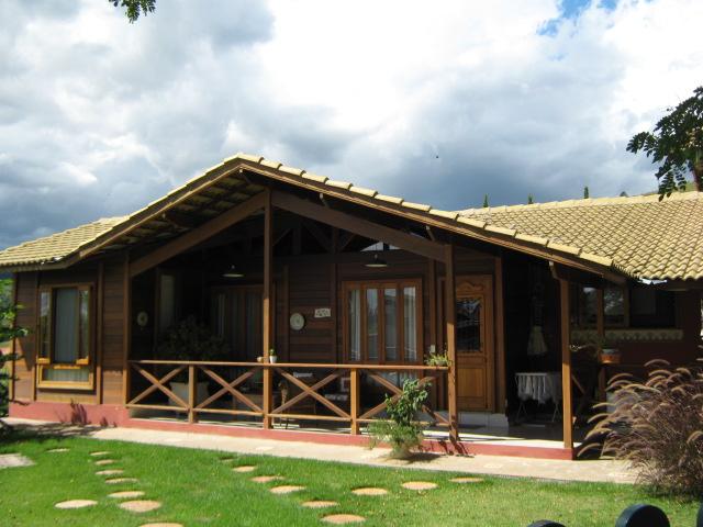 Casa de madeira pré-fabrica obra 32