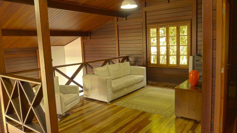 Casa de madeira pré-fabrica obra 34