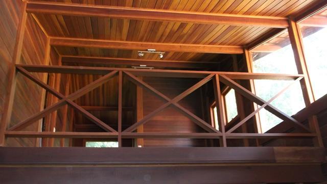 Casa de madeira pré-fabrica obra 40
