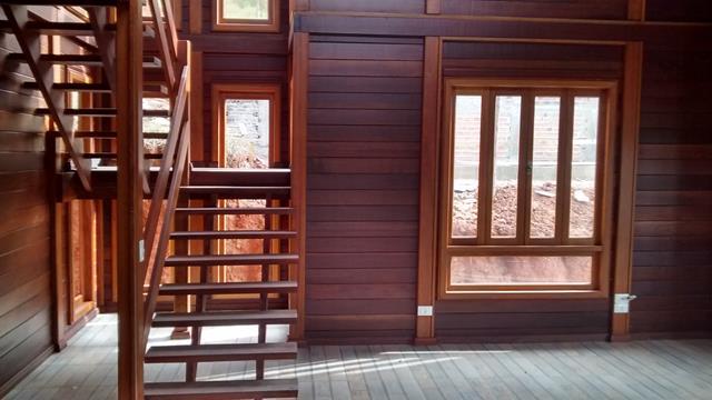 Casa de madeira pré-fabrica obra 41