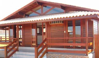 como escolher casa de madeira pré-fabricada