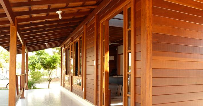 pilares mais robustos brasil casas de madeira
