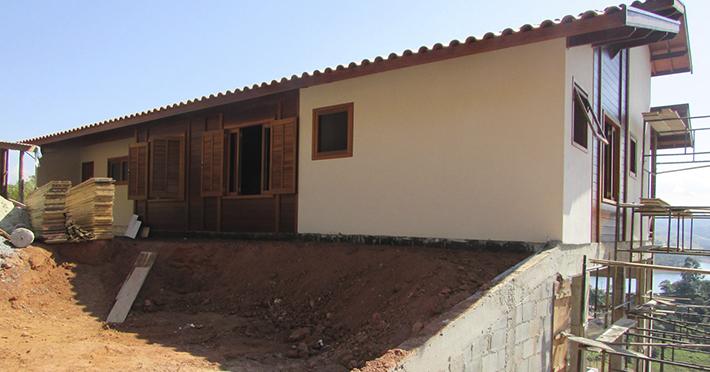 casa pré-fabricada em Igaratá – SP