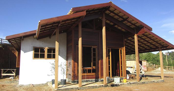 casa pré-fabricada em Maria da Fé – MG