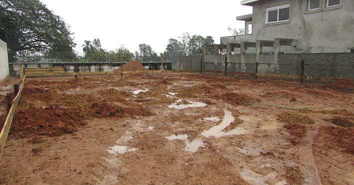 obra casa pré-fabricada em Taubaté – SP