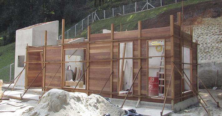 casa de madeira maciça em Campos do Jordão – SP