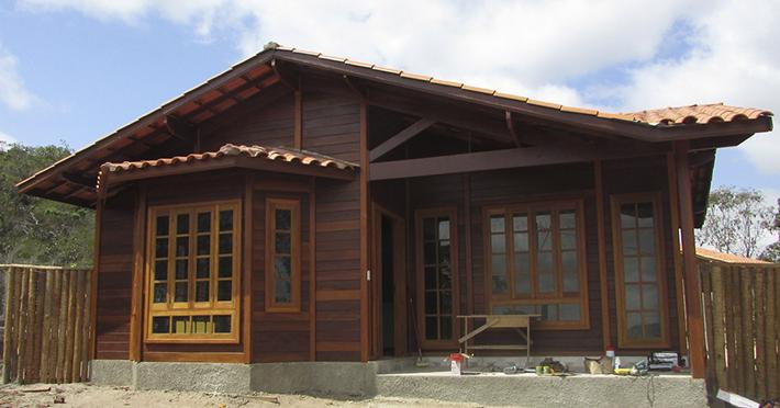 casa de madeira maciça em Diamantina – MG