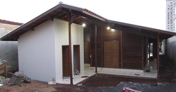 casa de madeira maciça em Sertãozinho – SP