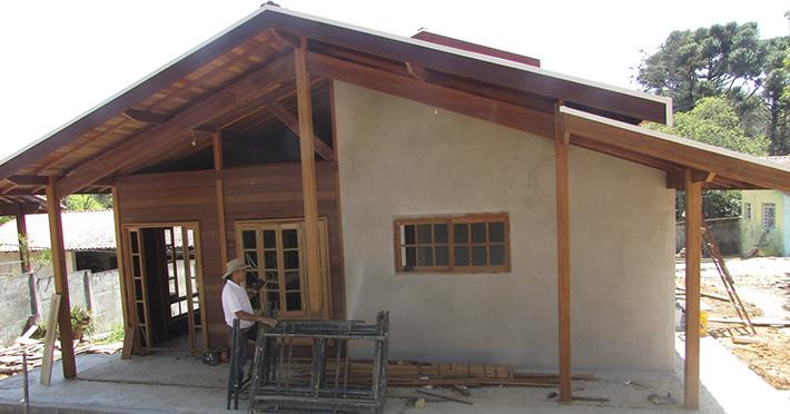 casa de madeira em Valinhos – SP