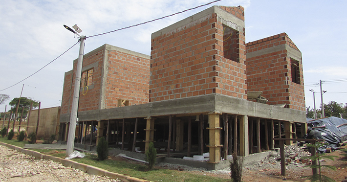 Projeto de 101,11m² com execução em Santo Antônio de Posse – SP