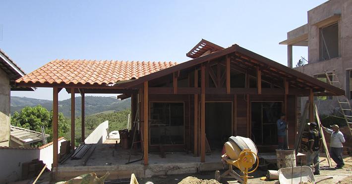 Projeto de 106,96m² com execução em Monte Alegre do Sul – SP