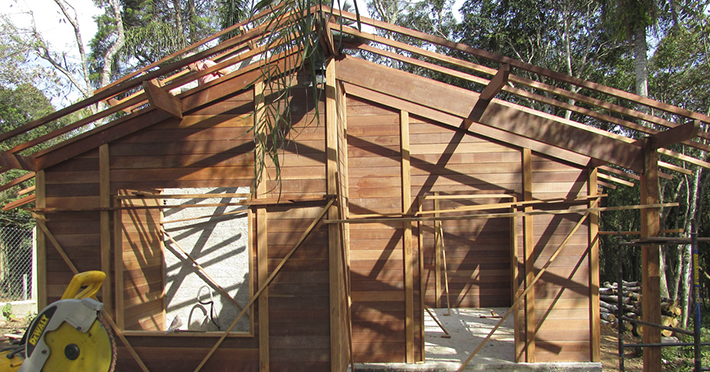 Projeto de 40,26m² com execução em Ibiúna – SP