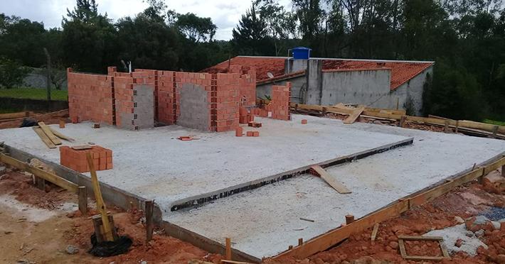 casa de madeira pré-fabricada em Ibiúna – SP