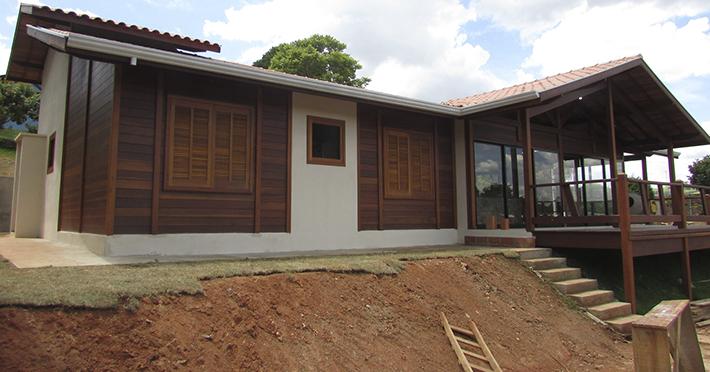 casa de madeira pré-fabricada em Itatiba – SP