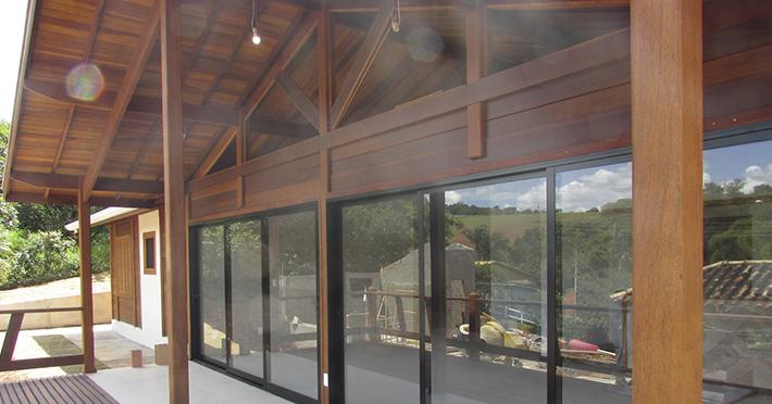 casa de madeira em Itatiba – SP