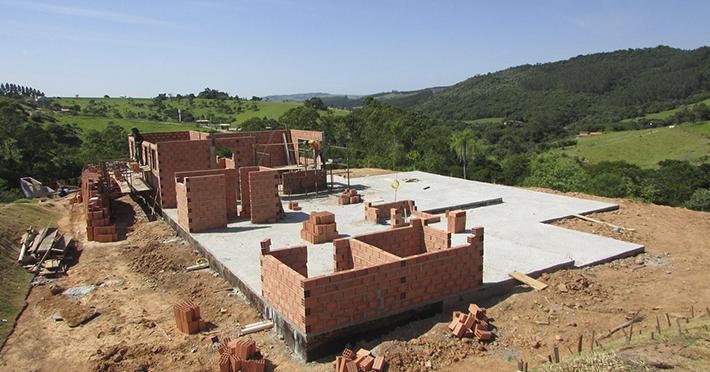 Projetos de casa de madeira 267,90m² e 60,64 m² com execução em Campinas – SP