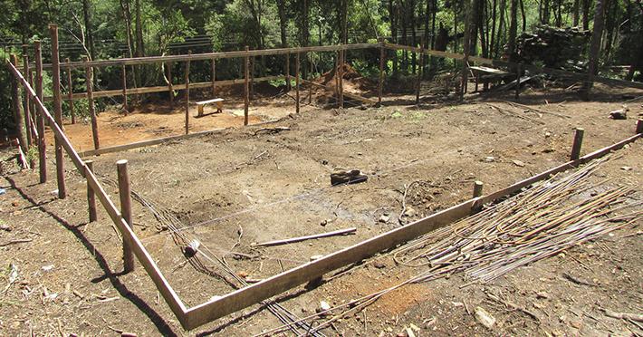 Projeto de casa de madeira pré-fabricada 153,50m² com execução em Monte Verde – MG