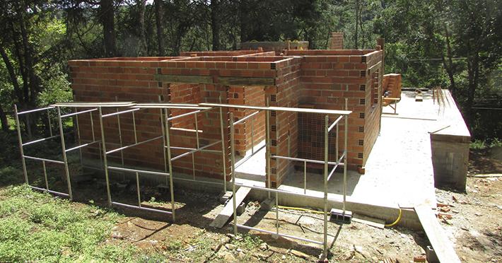 casa de madeira em Monte Verde - MG