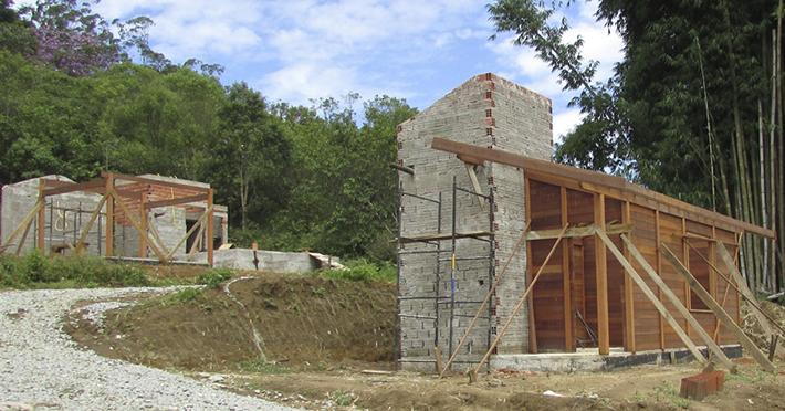 casa de madeira em Rio Grande da Serra - SP