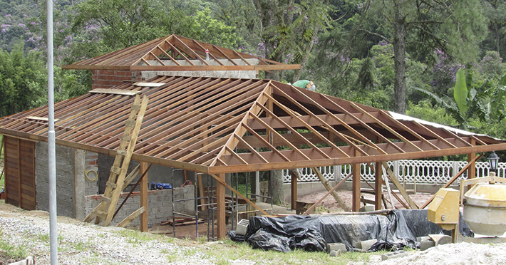 casa de madeira pré-fabricada em Rio Grande da Serra - SP