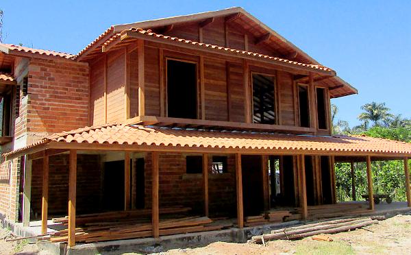 brasil casas de madeira pré-fabricadas