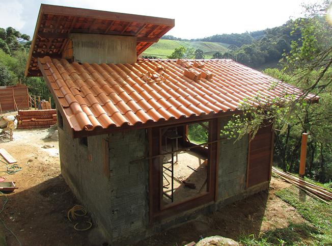 chalé de madeira pré-fabricado em gonçalves - MG
