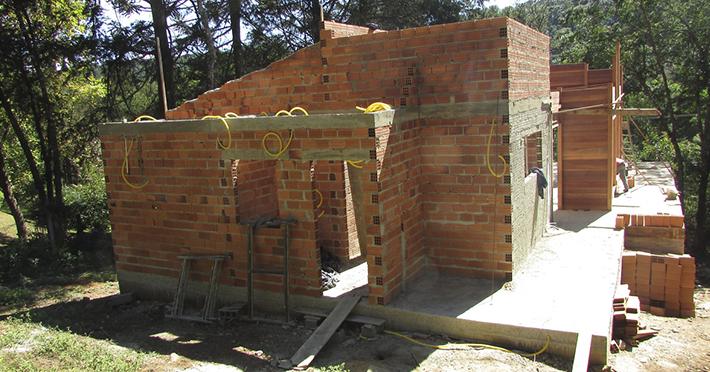 casa de madeira pré-fabricada em monte verde - MG