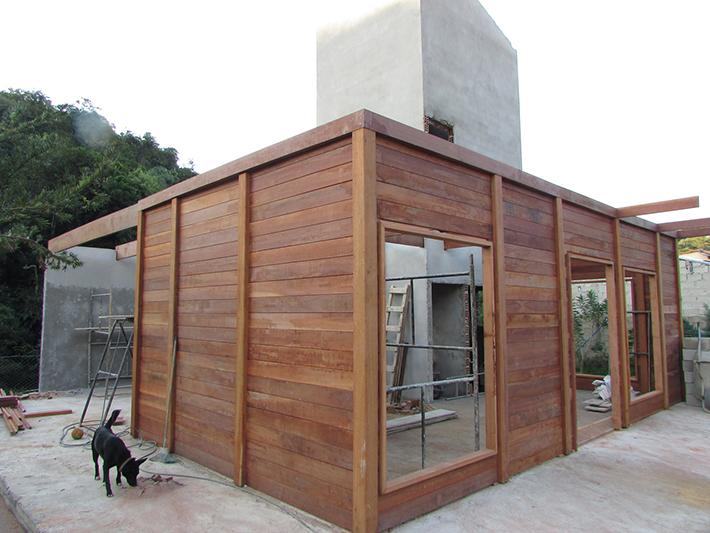 casa de madeira pré-fabricada em Taubaté - SP