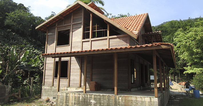 Projeto de 165,88m² com execução em Itanhaém - SP