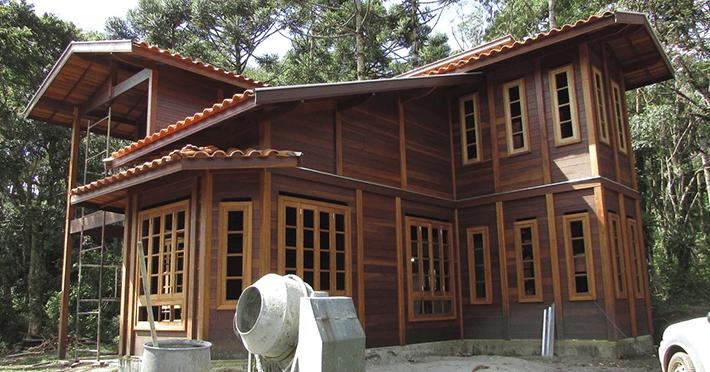 Projeto de 175,80m² com execução em São Bento do Sapucaí - SP