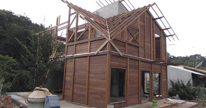 Projeto de 177,68m² com execução em Taubaté - SP