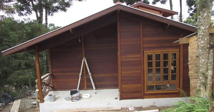casa de madeira em Campos do Jordão – SP