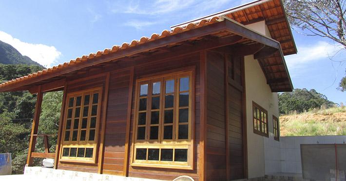 casa de madeira em Itamonte – MG