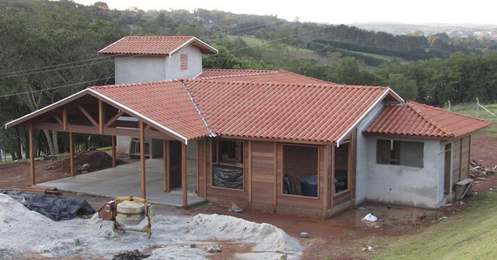 casa de madeira em Jarinu - SP