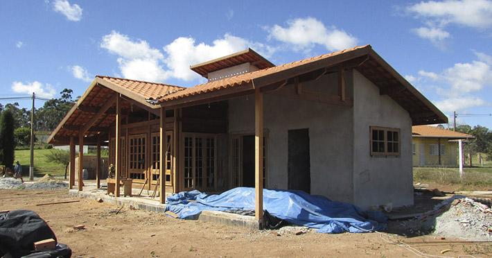 casa de madeira em Poços de Caldas – MG