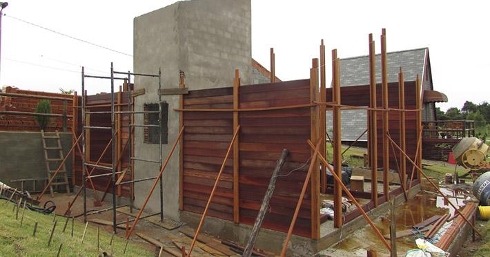 casa de madeira em Santo Antônio de Posse – SP