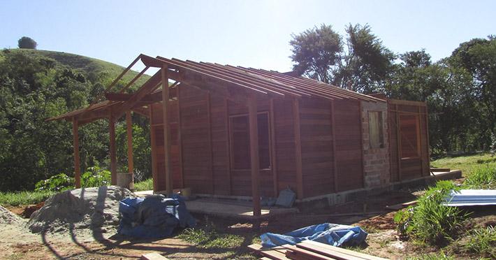 casa pré-fabricada em Taubaté – SP