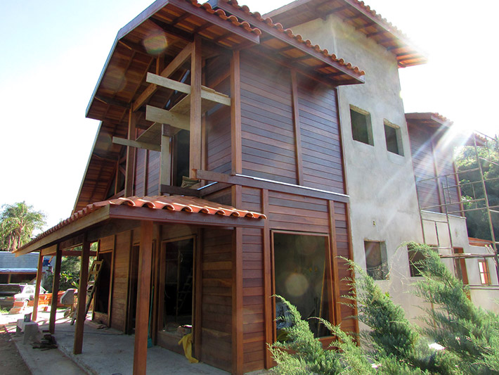 casa de madeira em Taubaté - SP