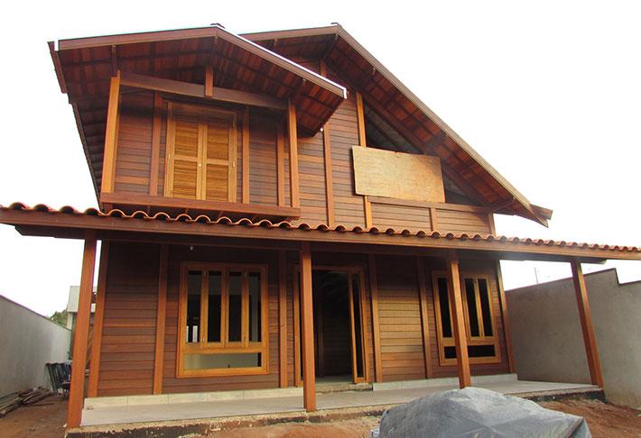 casa de madeira em botucatu sp