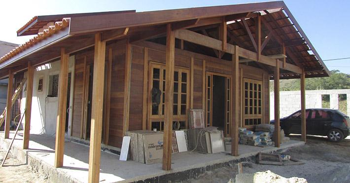 casa de madeira em Arrozal – RJ
