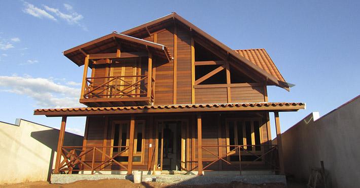 casa de madeira em Botucatu – SP