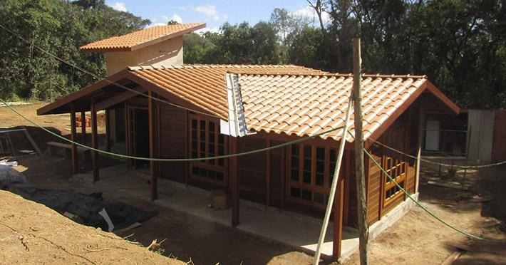 casa pré-fabricada em Ibiúna– SP