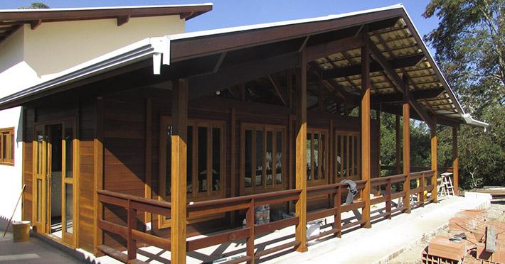 casa de madeira em Itapecirica – SP