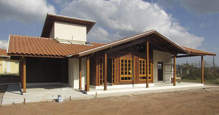 casa pré-fabricada em Poços de Caldas – MG