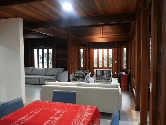 Casa de madeira pré-fabrica obra 56