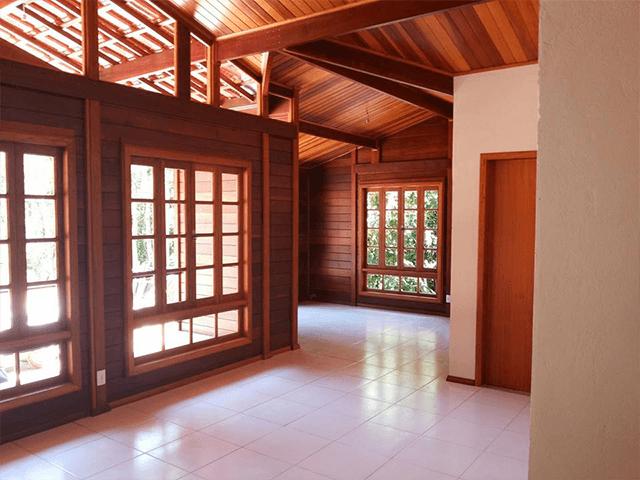 Casa de madeira pré-fabrica obra 59