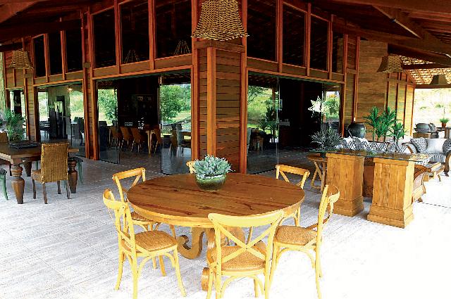 Casa de madeira pré-fabrica obra 66
