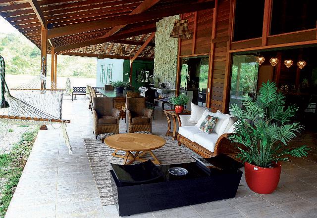 Casa de madeira pré-fabrica obra 69