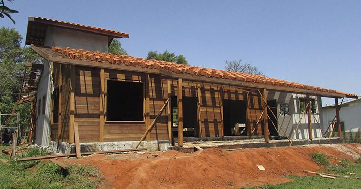 casa de madeira em Campinas – SP